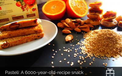 """Pasteli"" a 6000-year-old recipe"