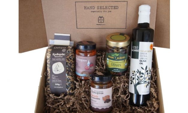 Mani, Kalamata & Domoko subscription box