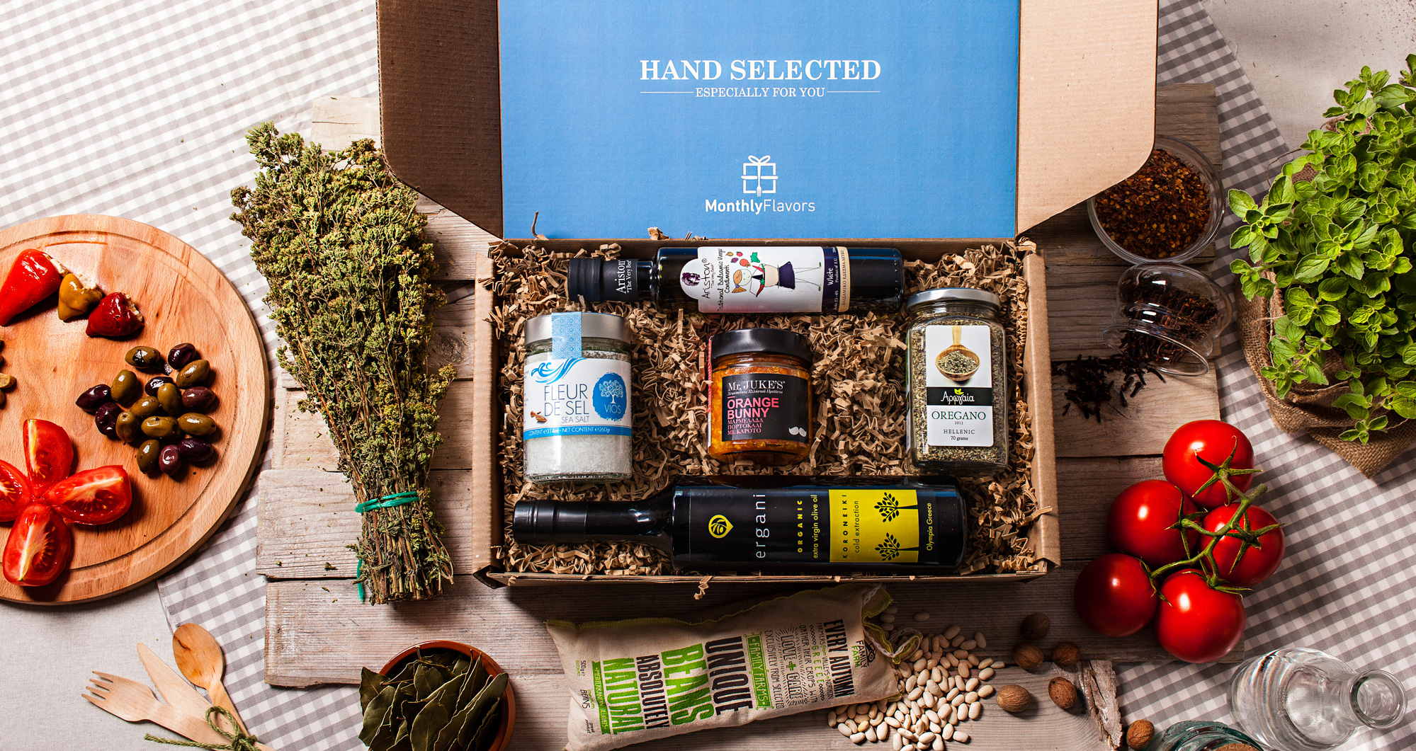 A MonthlyFlavors subscription box