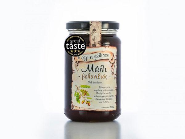 Oak tree honey