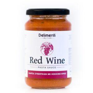 Σάλτσα ζυμαρικών με κόκκινο κρασί