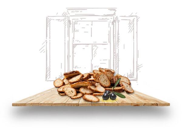 olive plate rusks