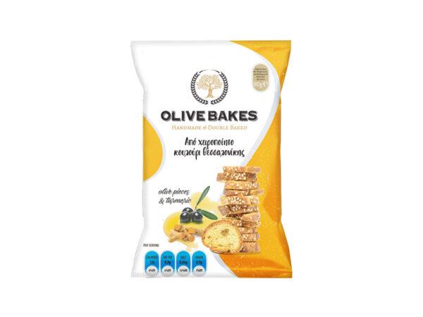 Olive flavor bagels