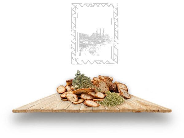 Oregano flavor plate