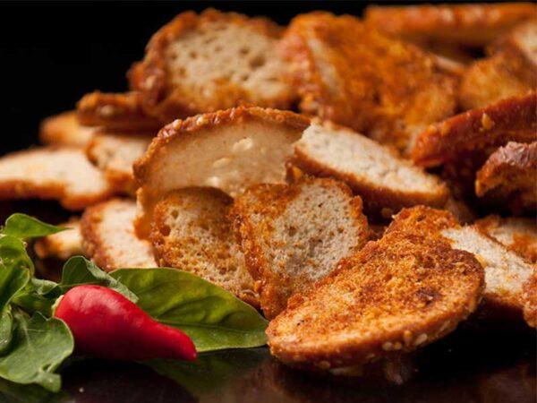 Olive Bakes paprika plate