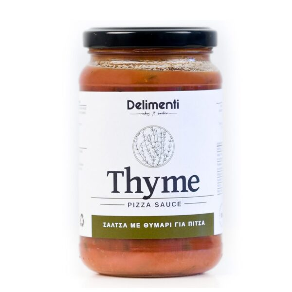 Thyme pizza sauce