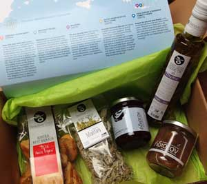 Subscription box from greece