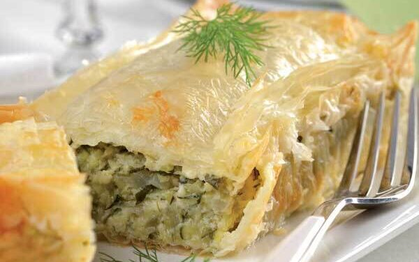 Zucchini Pie (Kolokythopita)