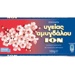 αμυγδάλου σοκολάτα υγείας ίον