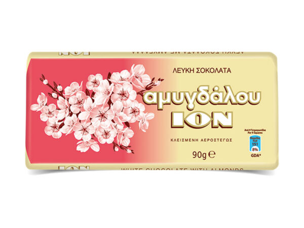 amigdalou white chocolate ion