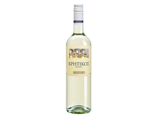 Κρητικός Μπουτάρη λευκός οίνος