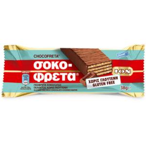 chocofreta milk chocolate, gluten free