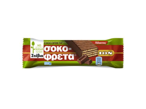 chocofreta milk chocolate with stevia