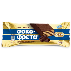 chocofreta with bitter chocolate