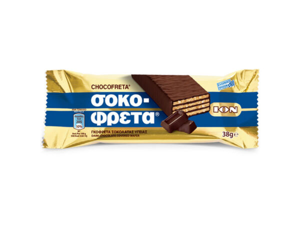 chocofreta with bitter chocolate