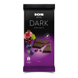 dark chocolate with super fruits