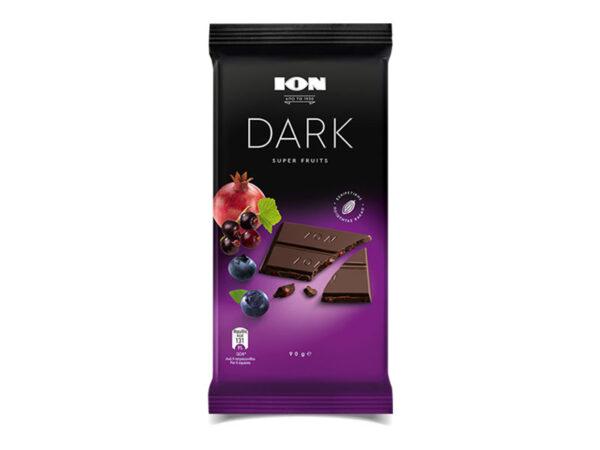 dark chocolate with super fruits