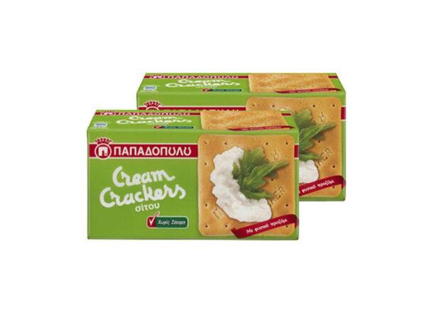 cream crackers no sugar