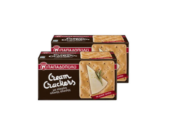 cream crackers with rye flour