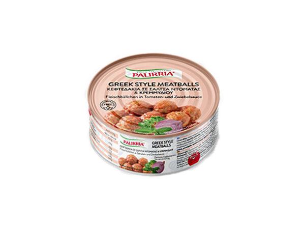 Meatballs in tomato & onion sauce