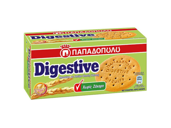 Digestive without sugar