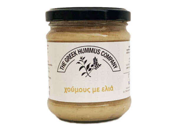 Hummus and olives 200g greek spread