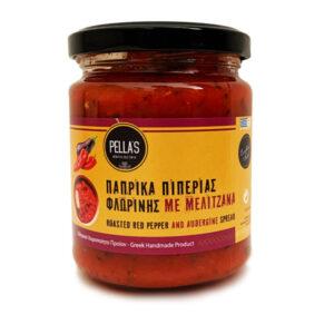 Πιπεριά με μελιτζάνα (260gr)