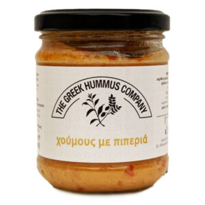 Red peppers hummus