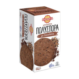 Multigrain cookies with chocolate 150g - Violanta