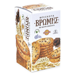 Oatmeal cookies with dark chocolate 200g - Violanta