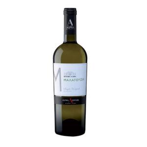 Malagouzia white dry wine
