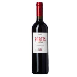 Portes merlot ερυθρός οίνος ξηρός 750ml - Σκούρας