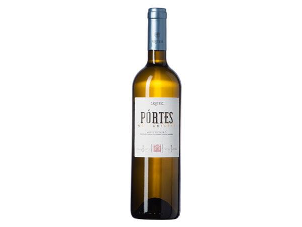 Portes μοσχοφίλερο λευκός οίνος ξηρός 750ml - Σκούρας