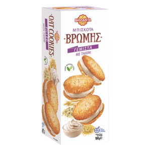Oatmeal biscuits filled with tahini 180g - Violanta