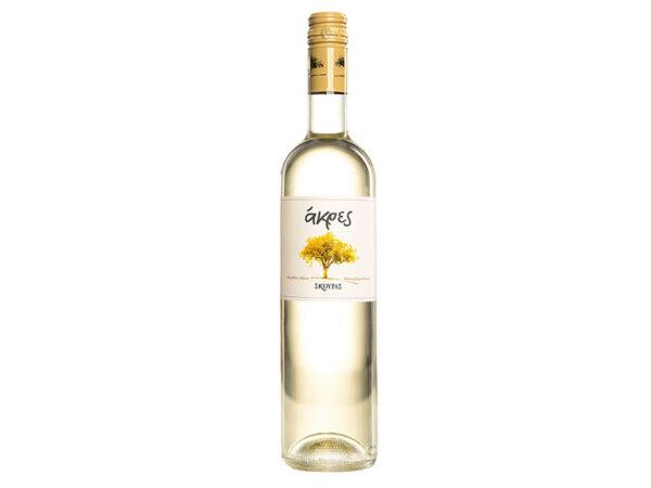 Ακρες λευκός οίνος ξηρός 750ml - Σκούρας