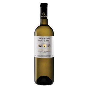 Santorini white wine assyrtiko (750ml) - Estate Argyros