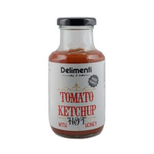 Tomato honey ketchup hot