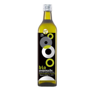 Anoskeli Organic Extra Virgin Olive Oil 750ml