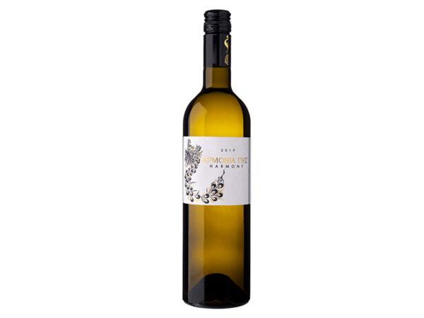 Αρμονία γης λευκός οίνος 750ml - Κτήμα Αβαντίς