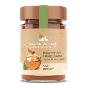 Organic fir honey (Vanilla) 420g - Green Village