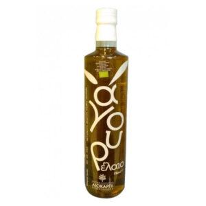 Organic green fresh extra virgin olive oil 750ml - Protogerakis