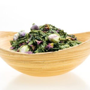 Green tea with rose 100g