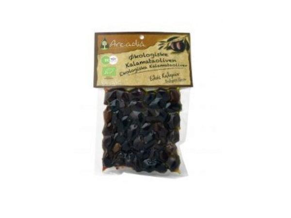 Organic Kalamon olives 200g - Arcadia