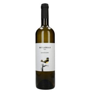 Savatiano white dry wine 750ml - Mylonas winery