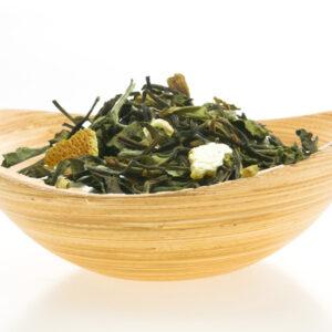 White tea with orange-ginger 100g