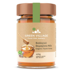 Organic thyme honey 420g - Green Village