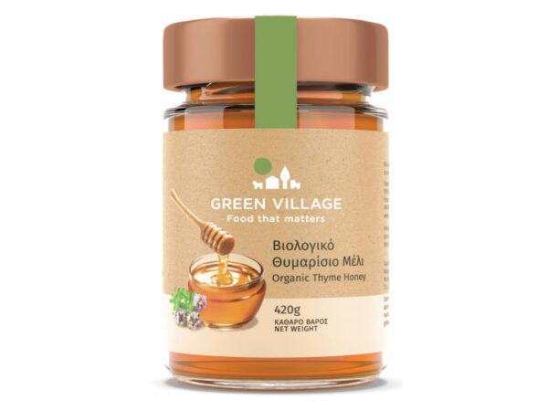 Βιολογικό θυμάρισιο μέλι 420g - Green Village