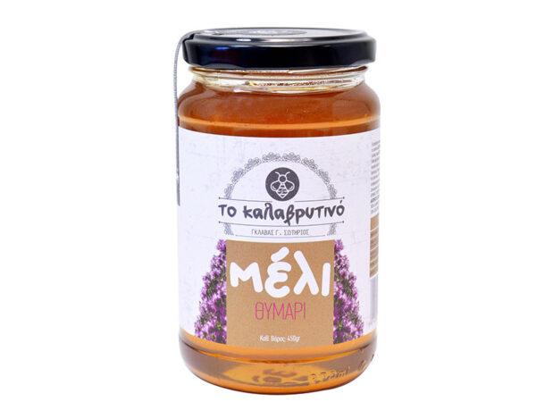 Thyme honey 450g - To kalavrutino