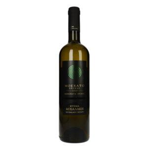 Moschato spinas white dry wine 750ml - Michalakis Estate